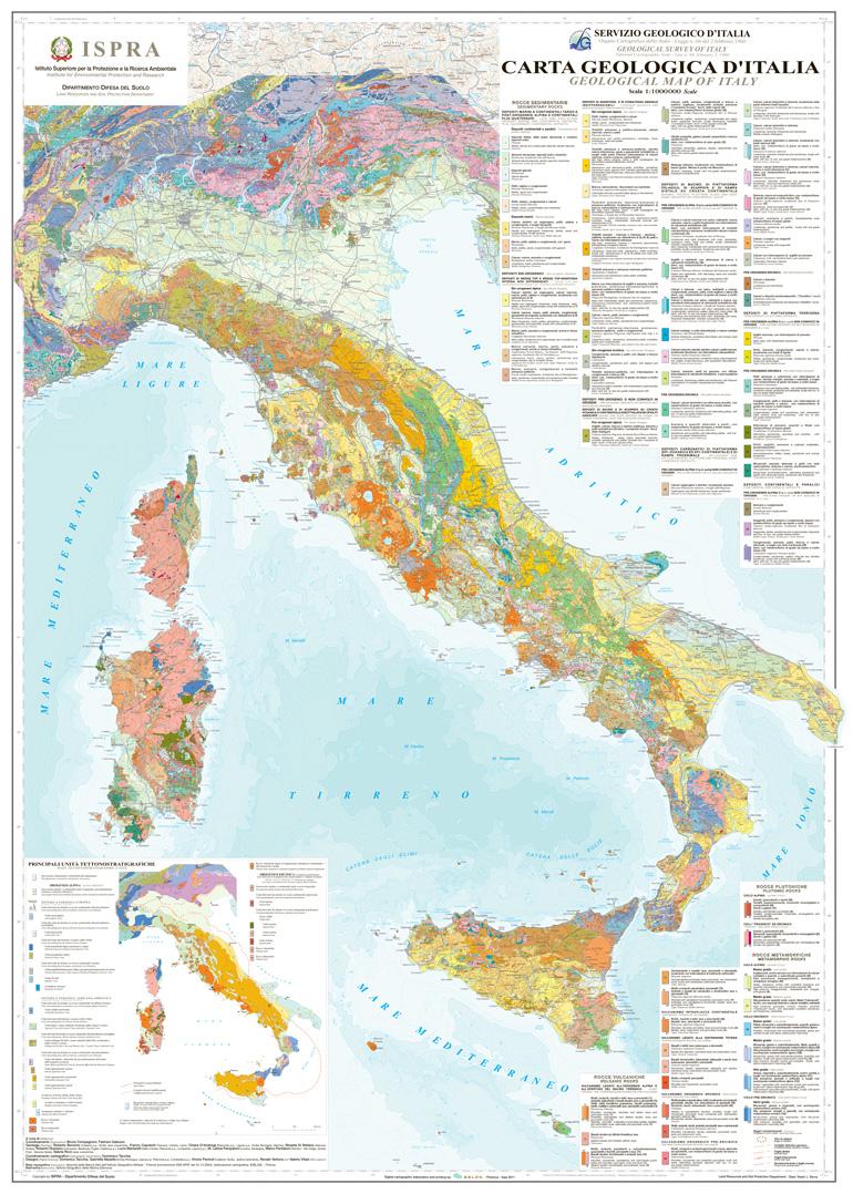 Carta geologica d'Italia