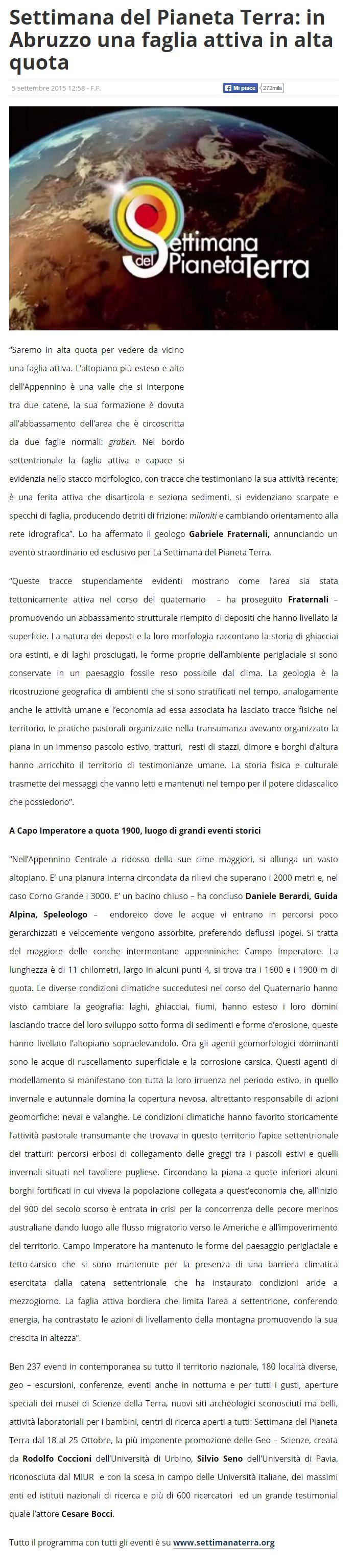 RELAZIONE CONCERNENTE I RISULTATI DELLE ATTIVITA DI RICERCA DI