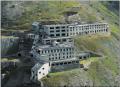 L'ex Villaggio Minatori di Colonna alla sommità della miniera