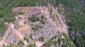 Vista aerea del sito