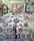 Affreschi della sala centrale del Castello, fatti realizzare da Federico Cesi