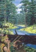 Fauna e flora della foresta fossile della Val Cesano