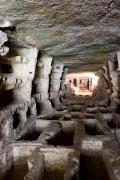 Foto interno catacombe (fonte BBCC Regione Siciliana)