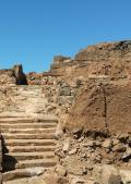 Resti del sistema di viabilità dell'Acropoli
