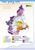 Carta geologica semplificata del Piemonte