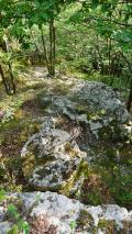 antichi semilavorati di macine da mulino