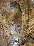 La Gola delle Fascette a valle di Upega.