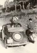 Escursione geologica nel 1958