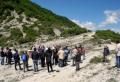 """Cerimonia per il """"chiodo d'oro"""" di Monte Cagnero, 13 maggio 2017"""