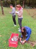 Comune di Resia - studenti impegnati nel rilevamento